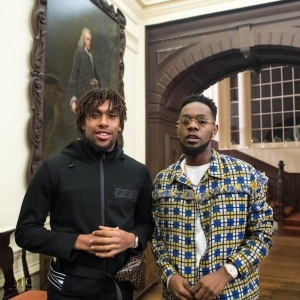 """""""Game Changers"""": Patoranking And Alex Iwobi Hang Out Together"""